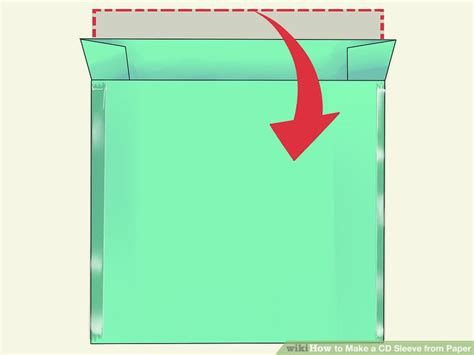 How To Make Paper File - how to make a cd sleeve from paper 13 steps with pictures