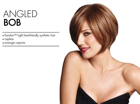 shorter hairstyles with side bangs and an angle angled bob wig by luxhair wow daisy fuentes short