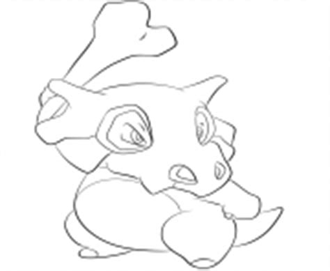 pokemon coloring pages of cubone pokemon coloring pages
