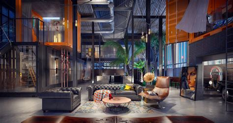 inspired apartment with industrial touches industrial style for living room design apply with