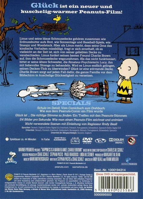 Uhd Decke by Die Peanuts Gl 252 Ck Ist Eine W 228 Rmende Decke Brown