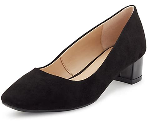 Marks Spencers Padstow Princess Collection Has Us Sold by Marks And Spencer Footglovetm Suede Square Toe Court Shoes