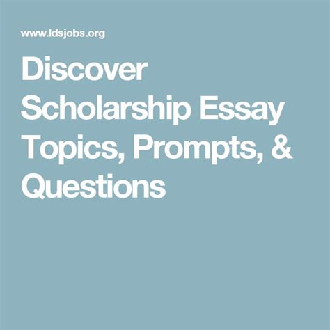 Boren Fellowship Essay Questions by 17 Best Ideas About Essay Topics On Writing Topics Creative Writing Scholarships