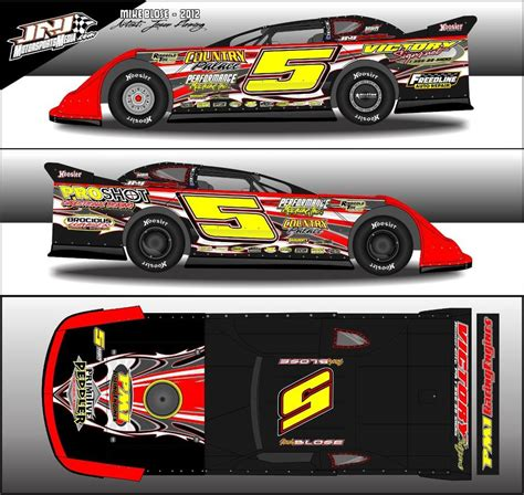 race car graphic design templates race car graphic design templates free dirt late model