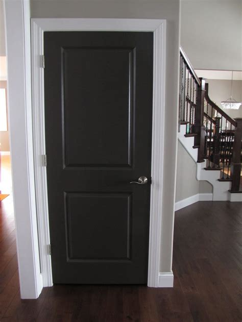 Painting Interior Wood Doors Best 25 Paint Doors Black Ideas On Black Interior Doors Black Door And Black Doors
