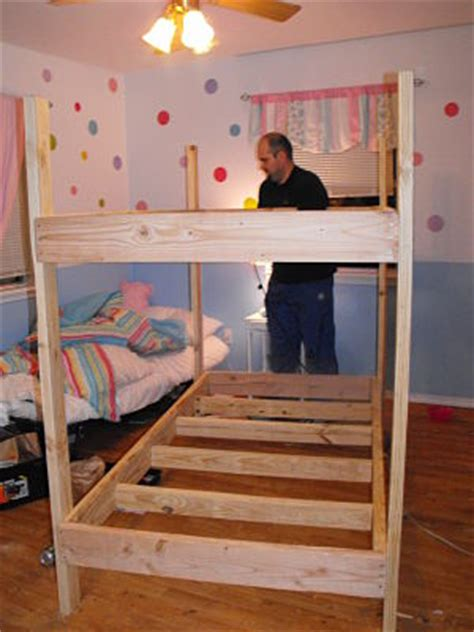Free Bunk Bed Building Plans A Step By Step Photographic Woodworking Guide Page 276