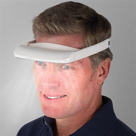 the light therapy visor hammacher schlemmer