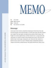 memo templates free big title blue sidebar free memo template