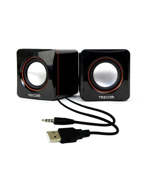 Speaker For Laptop Usb buy tricom multimedia wired usb mini speaker for desktop computer laptop mobile phone