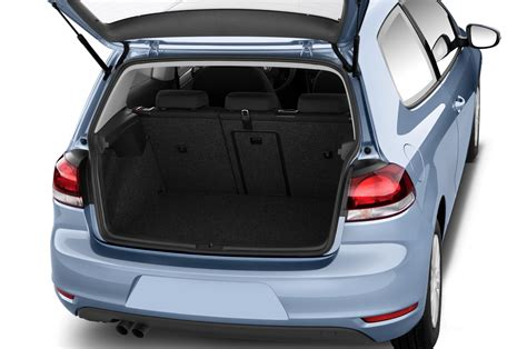 volkswagen golf trunk the golf in black and white