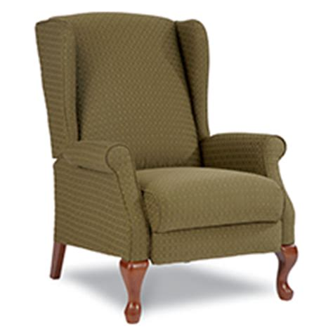lazy boy wingback recliners kimberly high leg recliner
