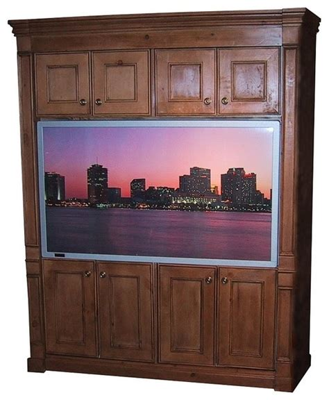 Antique Tv Cabinets With Doors by Flat Screen Entertainment Center W Door Cabinets