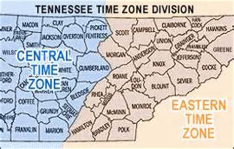 tennessee time zone map time zone map tennessee afputra