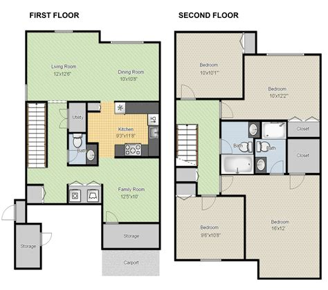 free floor plan layout pole barn garage apartment floor plan design freeware