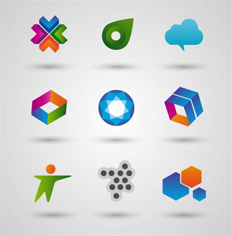 colored shapes adobe illustrator logo free vector 226 477 free