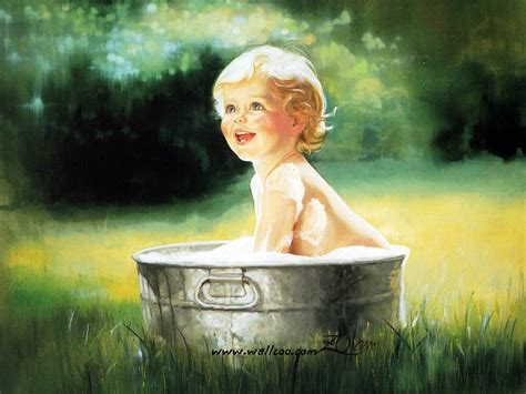 free painting for babies heartwarming childhood paintings donald zolan s