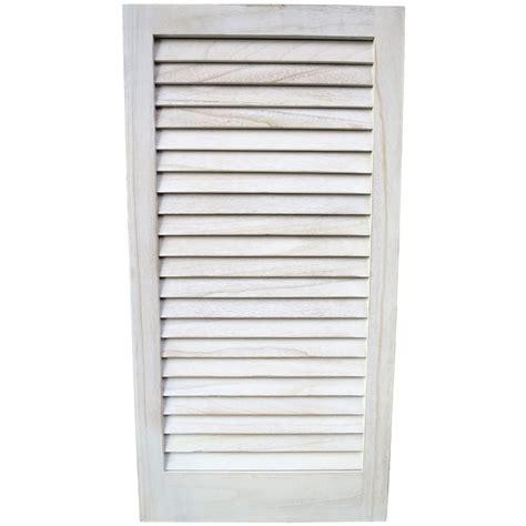 louvre shutters houten louvre shutter whitewash 83x42 woontante