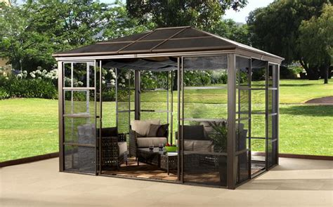 aluminium gazebo why choosing aluminum gazebos gazebo ideas