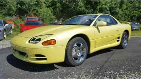 mitsubishi 3000gt yellow mitsubishi 3000gt 1994 this vr4 comes in the