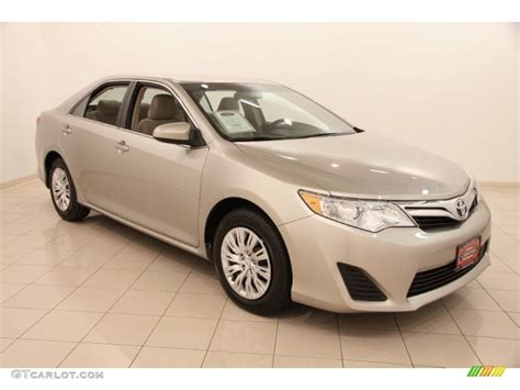 Toyota Camry Creme Brulee 2014 Creme Brulee Metallic Toyota Camry Le 105176038