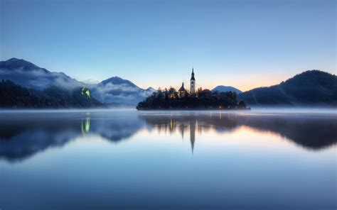 lake bled daily wallpaper lake bled slovenia i like to waste my time