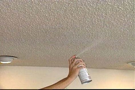 miscellaneous how to paint a popcorn ceiling spray how
