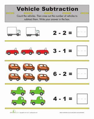 printable subtraction games for kindergarten subtraction for kids worksheet education com