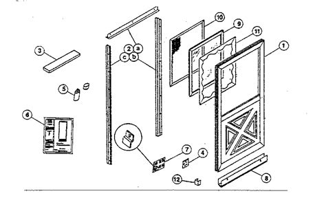 pella garage door parts