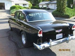 1955 55 chevy 150 black gasser ready to race