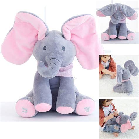 Setelan Baby Peek A Boo peek a boo elephant baby plush singing stuffed pink animated soft gift ebay