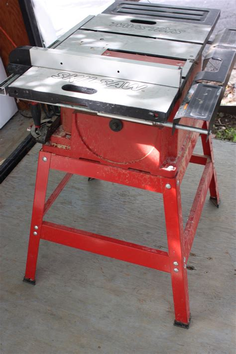 skil 10 inch table saw skil 3400 08 15 10 inch table saw with stand ebay