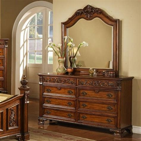 el dorado bedroom sets eldorado furniture bedroom set cherry 8 drawer dresser