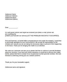 Formal Apology Letter For Absence Professional Apology To Customer In Pdf Apology Letter Questions Letter Sle