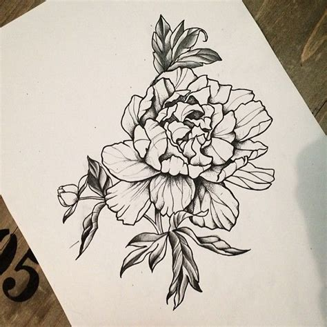 i want to tattoo this peonyflower for any info please
