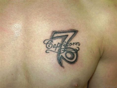 capricorn tattoos 63 zodiac tattoos for chest