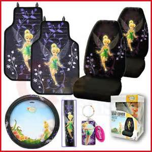 Tinkerbell Seat Covers Cars Walmart Tinkerbell Car Seat Covers Accessories Set Mystical 6pc Ebay