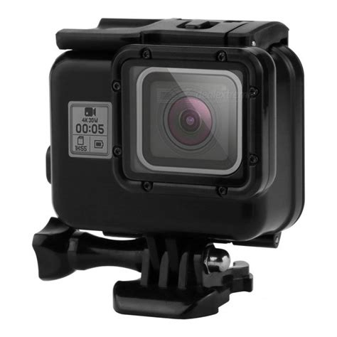 Waterproof For Gopro 5 Black 45m underwater waterproof for gopro 5 sport black free shipping dealextreme