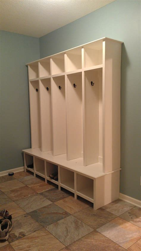 mudroom lockers    home projects  ana