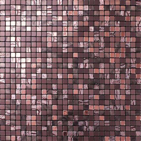 metallic mosaic tile backsplash metallic mosaic tiles aluminum wall panels metal