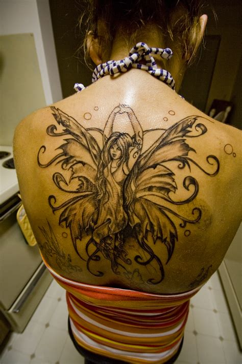 fairy back tattoo designs tattoos designs ideas and meaning tattoos for you