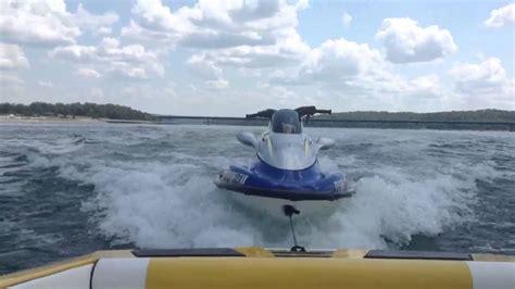houseboat jet ski r this is how i tow a jet ski with my malibu skier euro f3