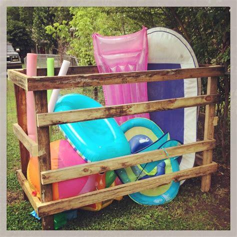 Hanging Pool Float Rack by Best 25 Pool Storage Ideas On Pool Towel Storage Pvc Towel Drying Rack And Outdoor