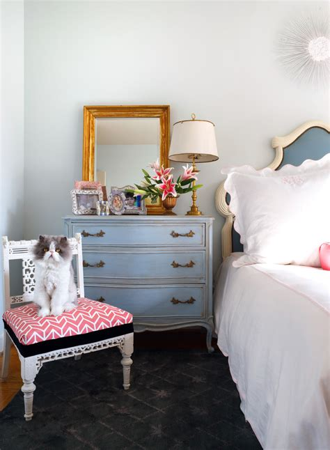 cat bedroom decor sublime distressed antique white dresser decorating ideas