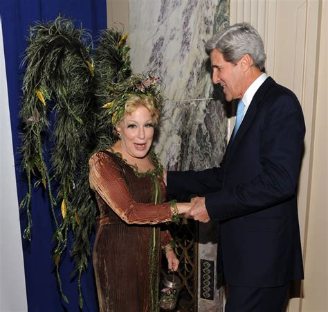 john kerry bette midler photos photos zimbio