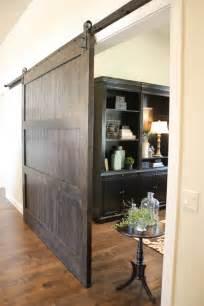 Barn Pocket Doors Custom Knotty Alder Barn Door By Riverwoods Mill Custommade