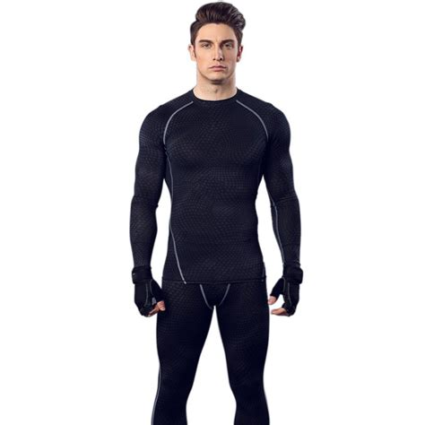 Fitness T Shirt Workout Compression Running Sleeves Tops mens sleeve tops tight shirts sports running fitness