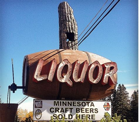 Side Door Liquor Store by Neon Madness Top 50 Coolest Vintage Signs In Minnesota