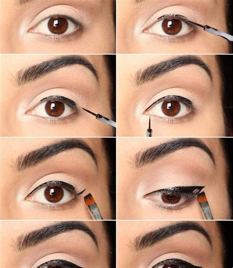 top eyeliner tutorial liquid perfect liquid eyeliner applying technique alldaychic