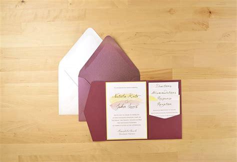 diy wedding invites in 5 easy steps weddingbee