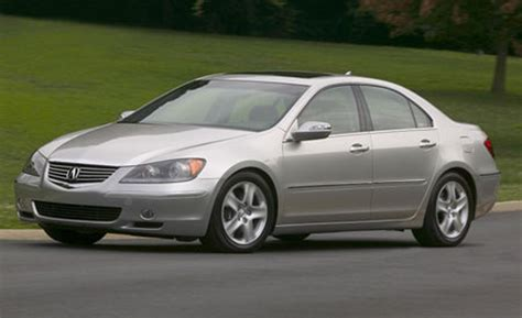 acura rl car and driver